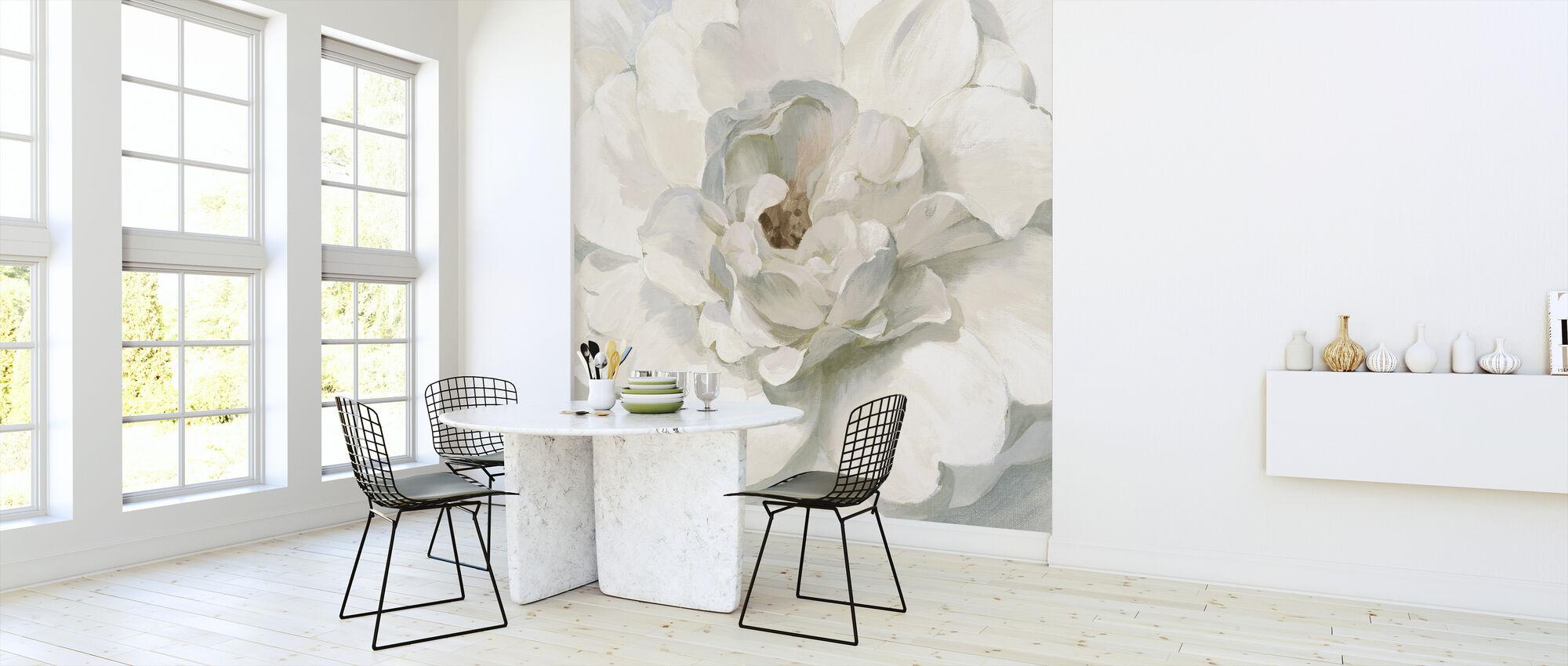 Neutral Peony - Wallpaper - Kitchen