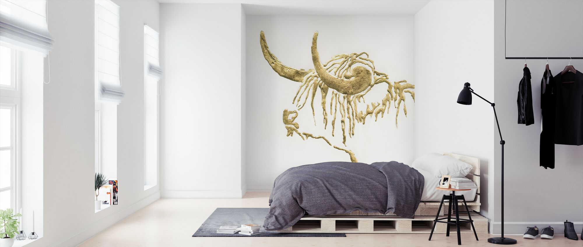 Gilded Highlander - Wallpaper - Bedroom