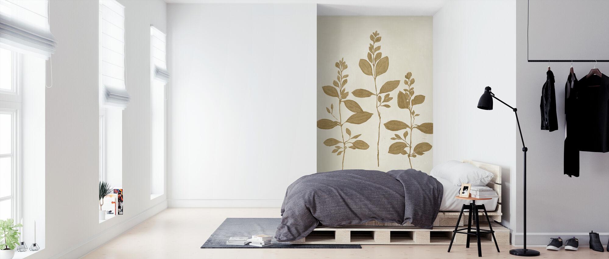 Botanical Study - Wallpaper - Bedroom
