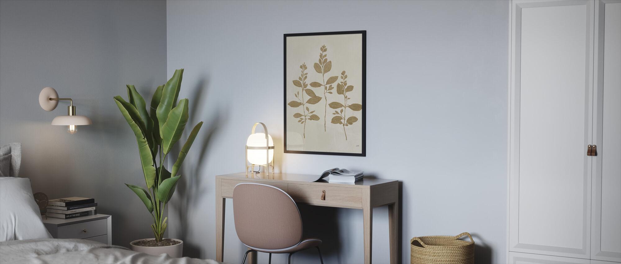 Botanical Study - Framed print - Bedroom
