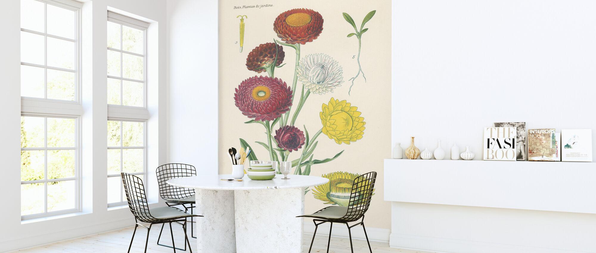 Antique Botanical - Wallpaper - Kitchen