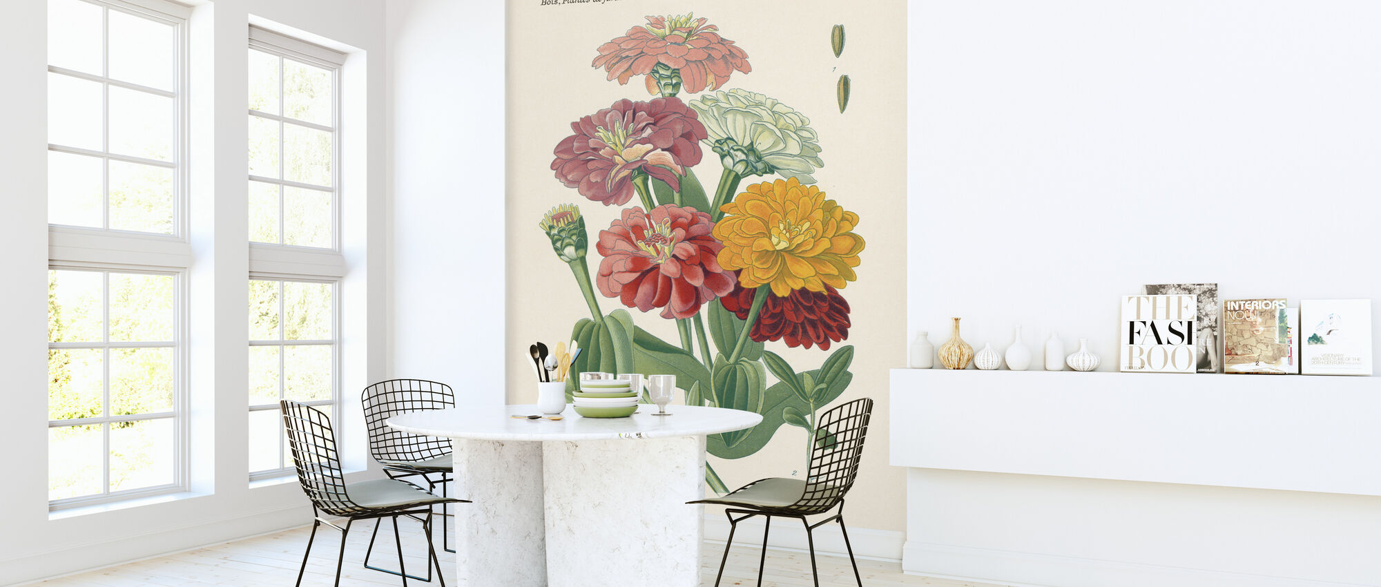 Antique Botanical II - Wallpaper - Kitchen