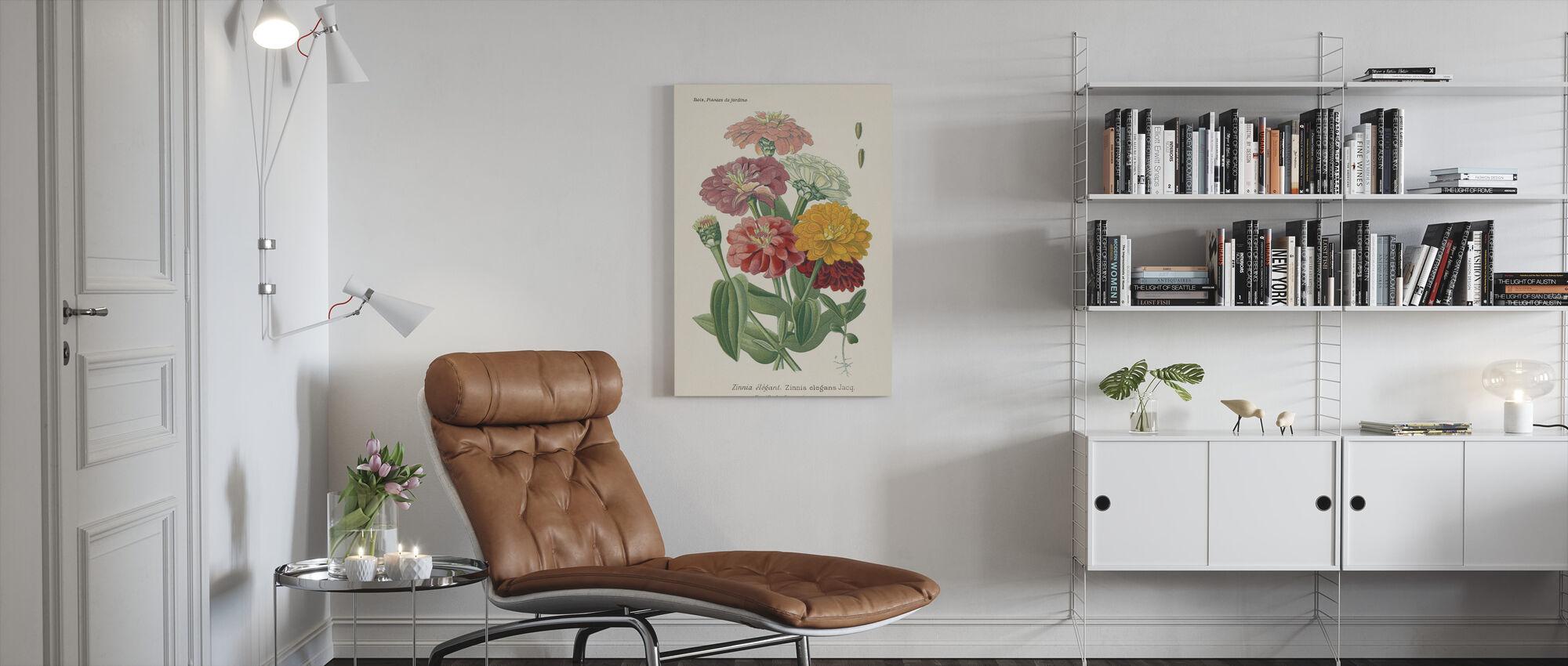 Antique Botanical II - Canvas print - Living Room