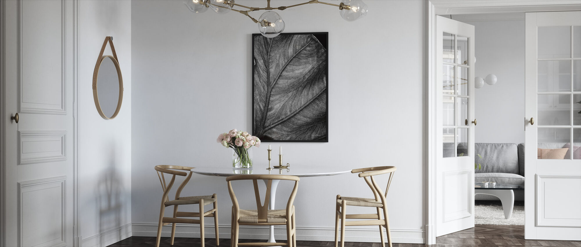 Olifant Oor - Ingelijste print - Keuken