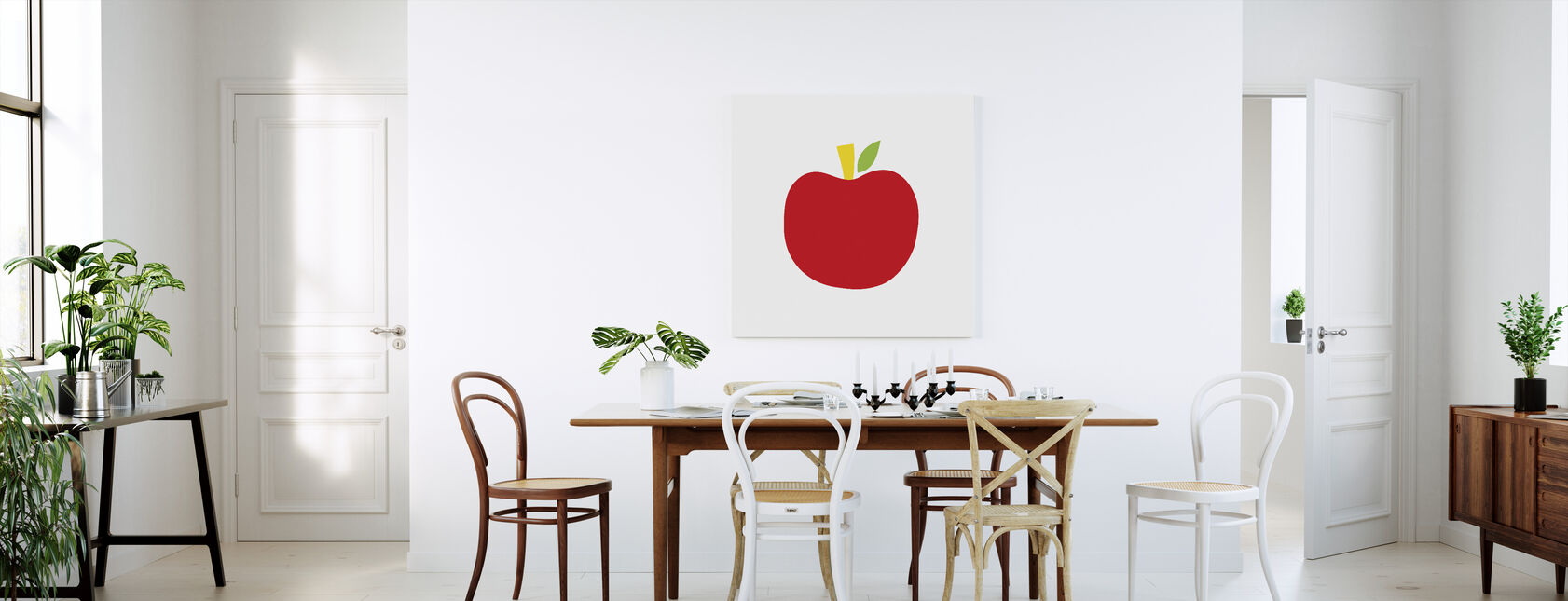 Red Apple - Canvas print - Kitchen
