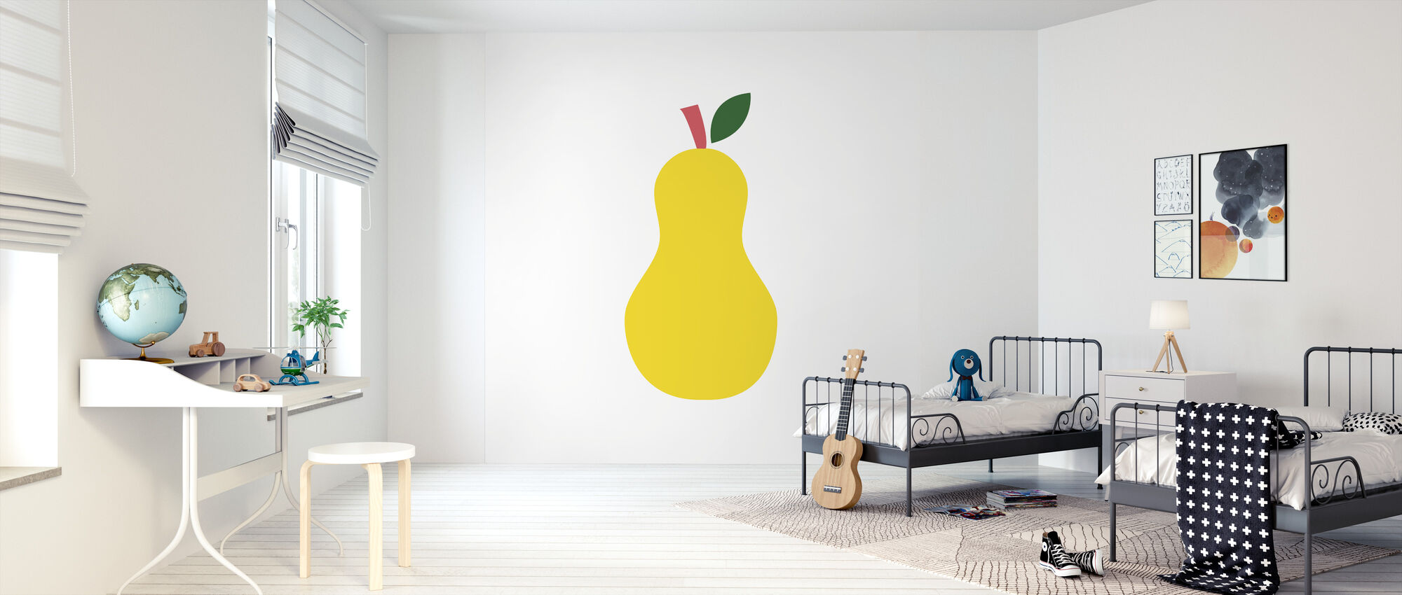 Yellow Pear - Wallpaper - Kids Room