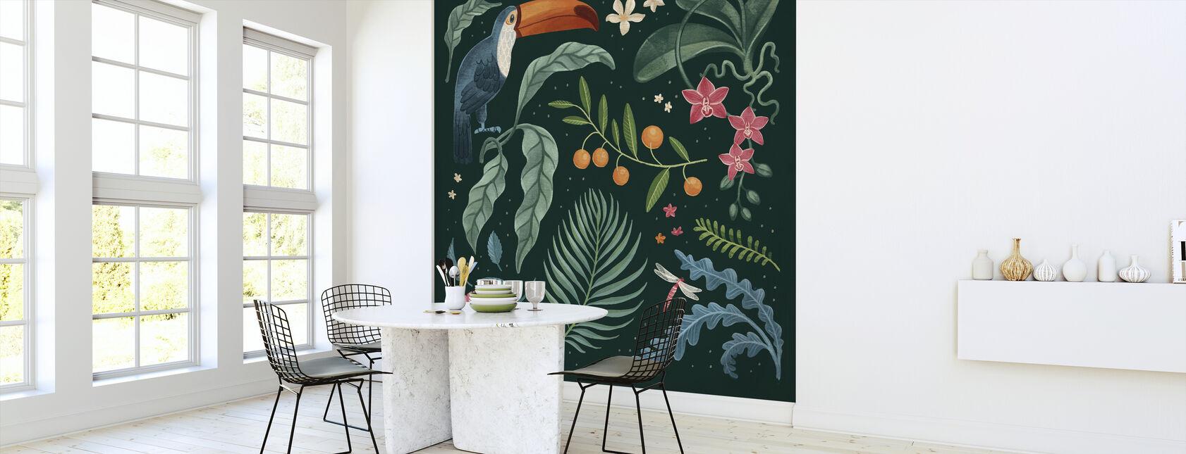 Dżungla Miłość - Tapeta - Kuchnia