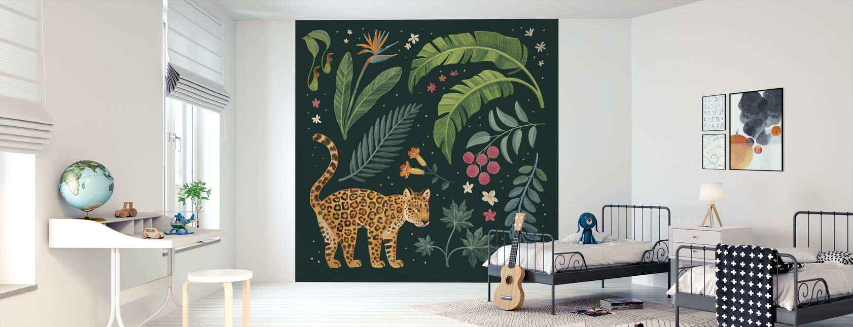 Jungle Love II - Wallpaper - Kids Room