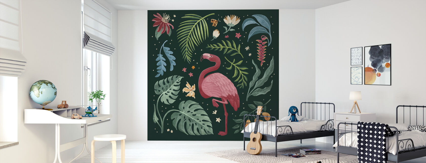Jungle Love III - Wallpaper - Kids Room