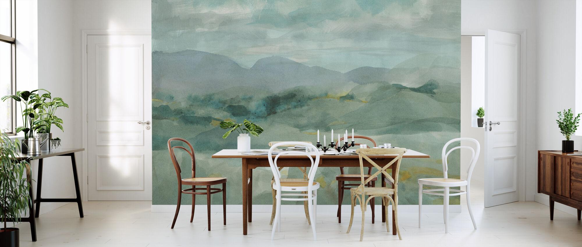 Green Mountain View - Wallpaper - Kitchen