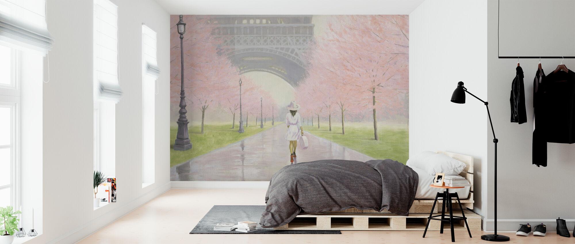 Printemps en Paris - Tapet - Sovrum