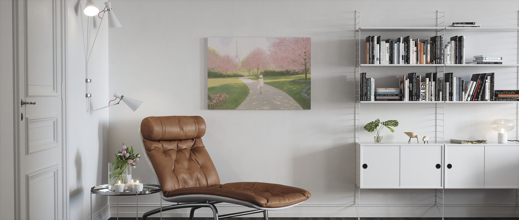 Printemps a Paris II - Canvas print - Living Room
