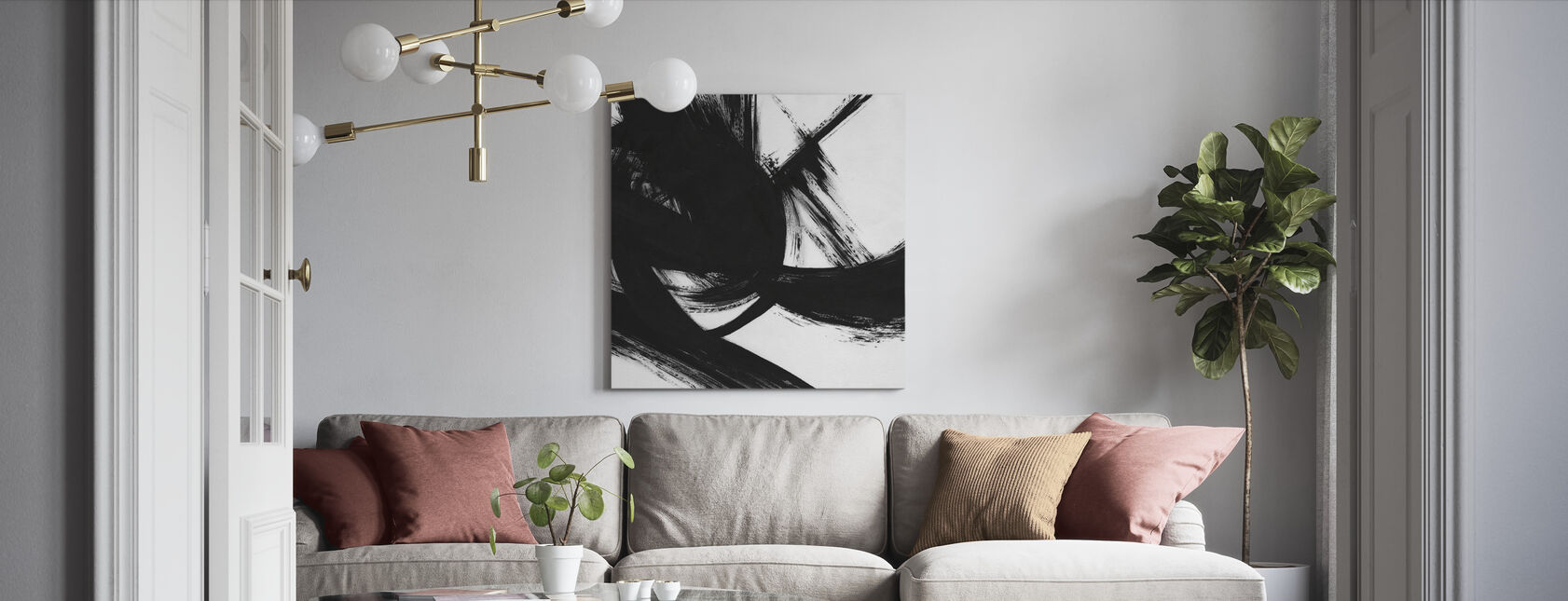 Density - Canvas print - Living Room
