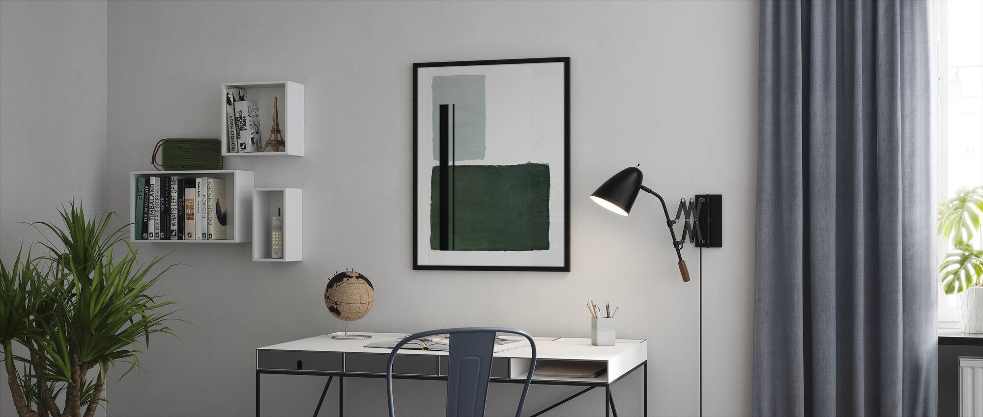 Equilibrium - Framed print - Office