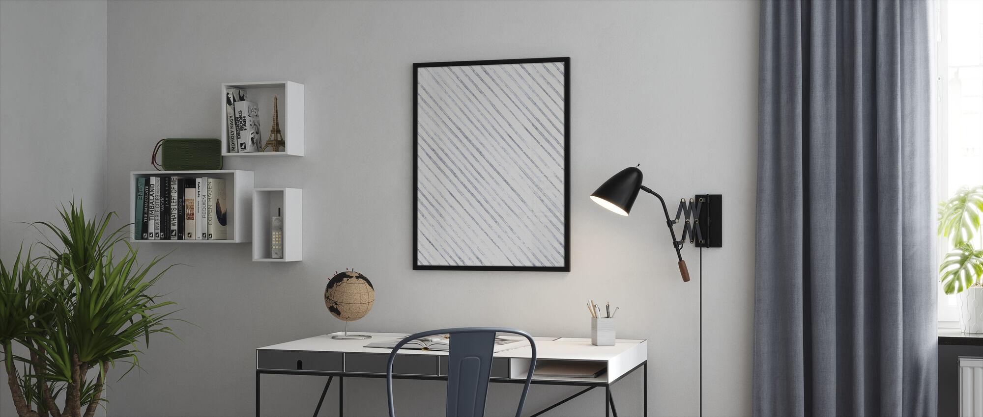 From Inside - Framed print - Office