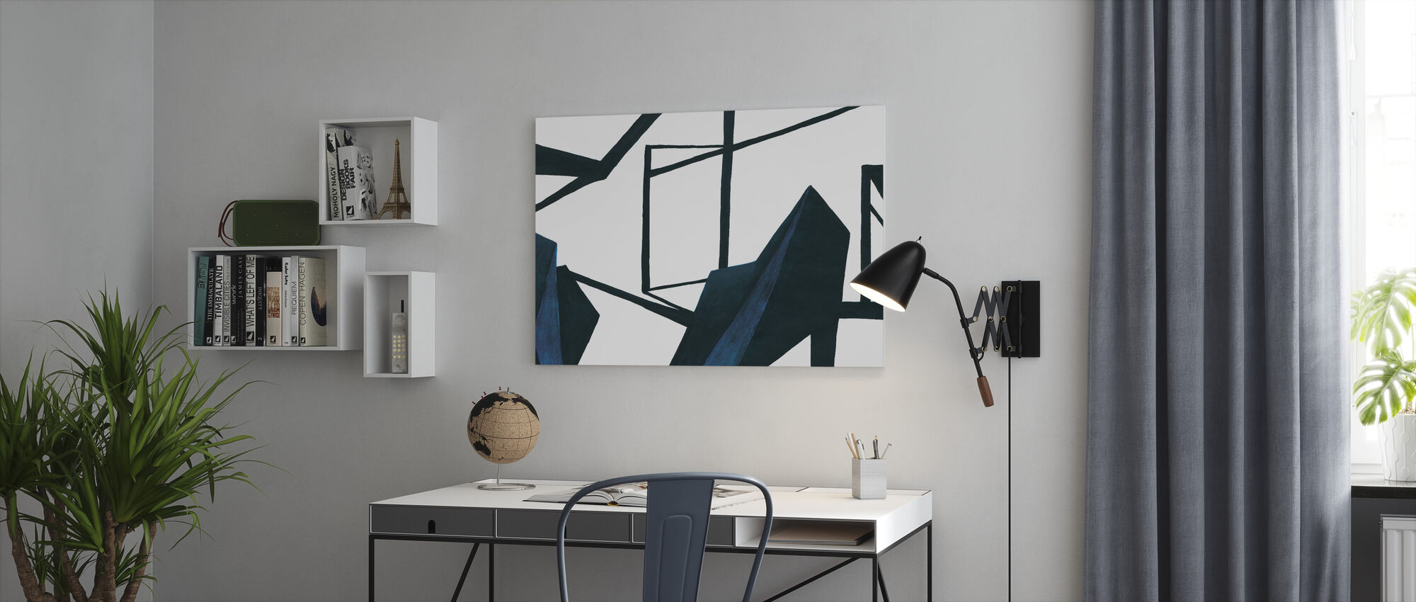 In deze kamer - Canvas print - Kantoor