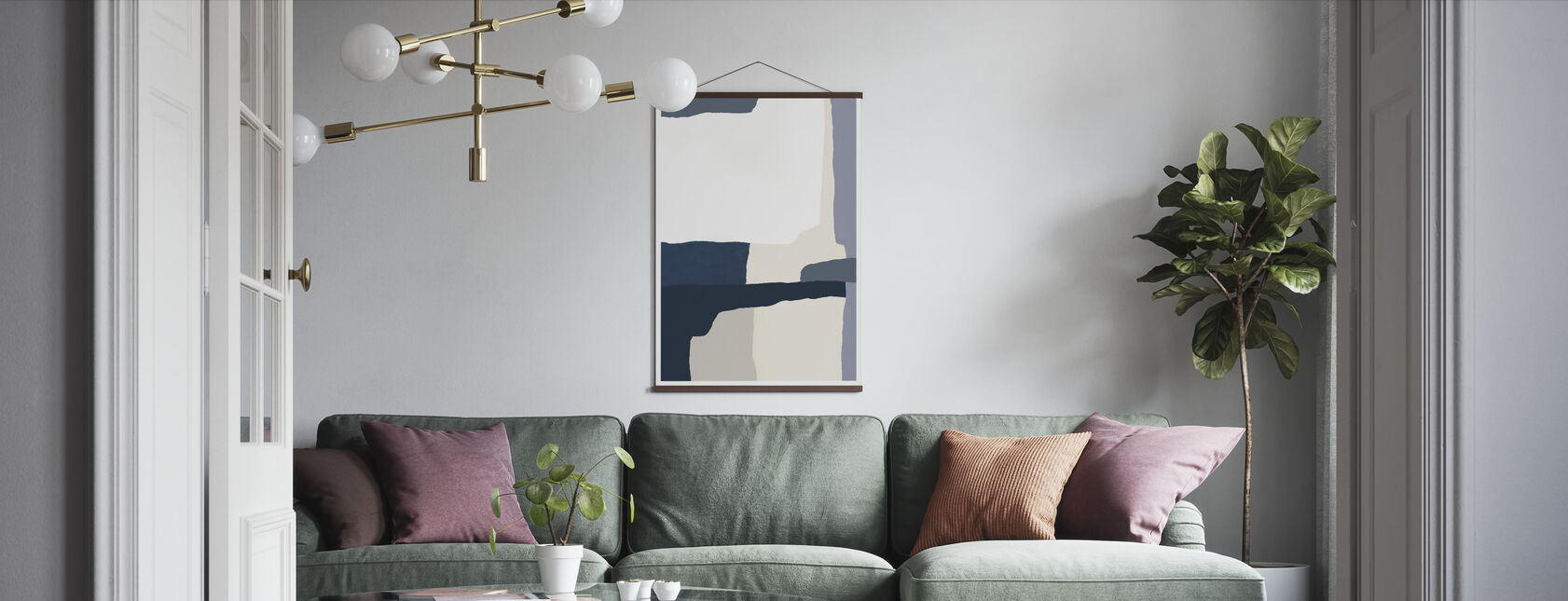 Layers - Poster - Living Room