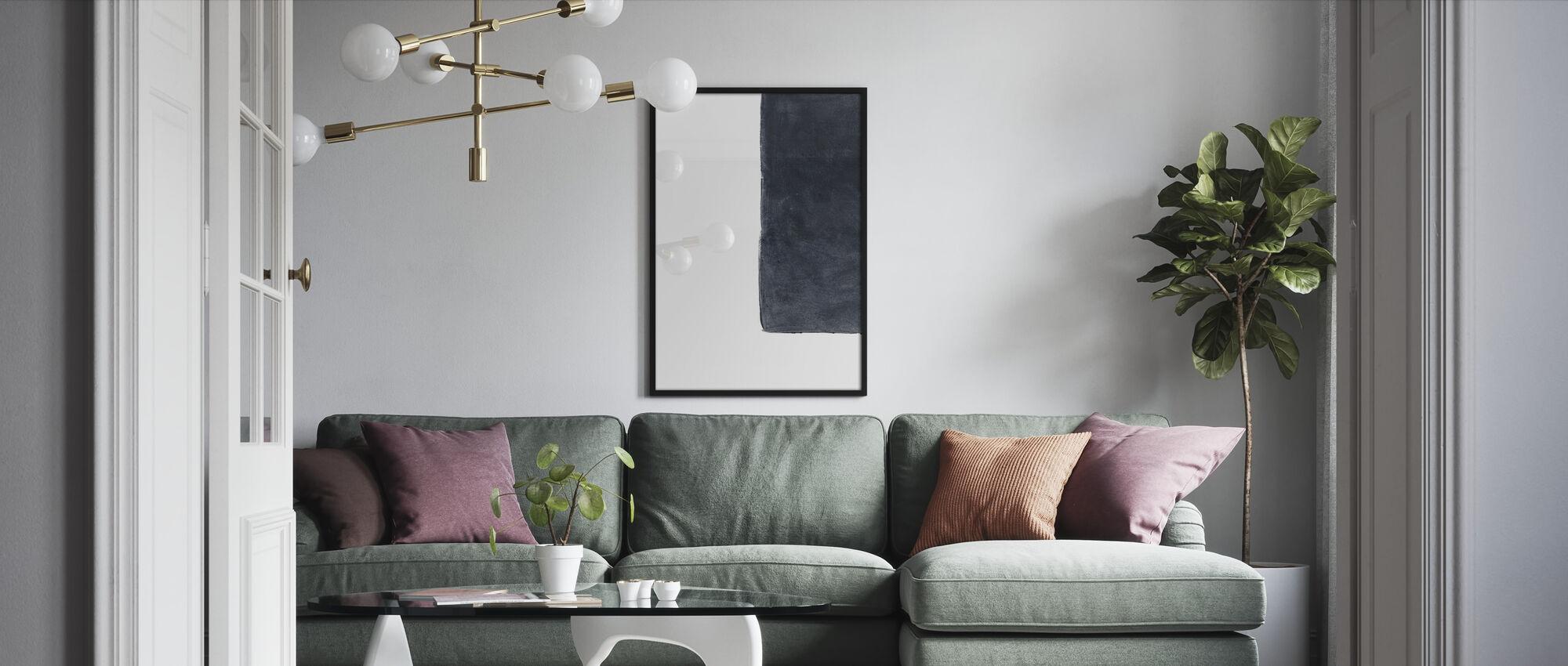 State of Incertitude - D - Framed print - Living Room