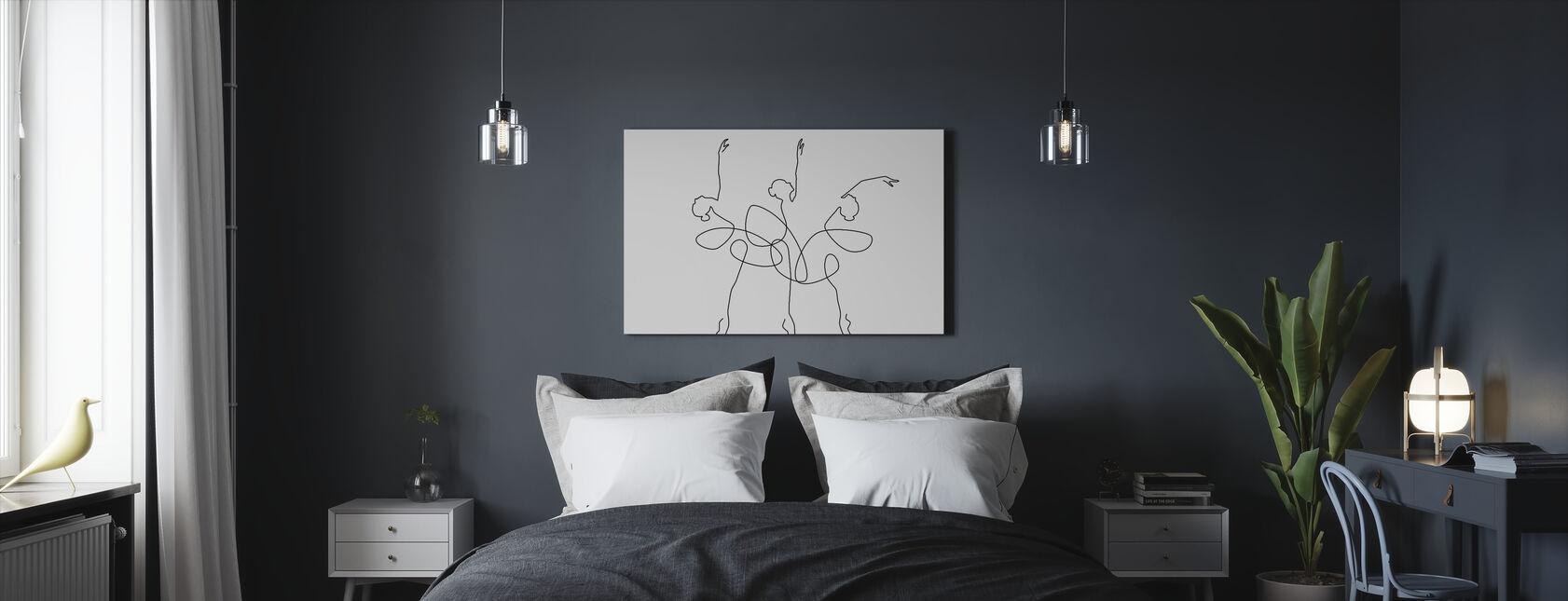 Ballet x 3 - Canvas print - Bedroom