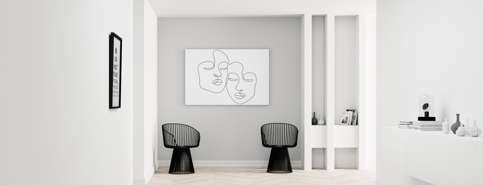 Twins - Canvas print - Hallway