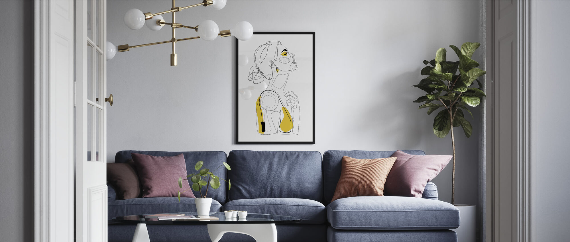 Color Beauty - Framed print - Living Room