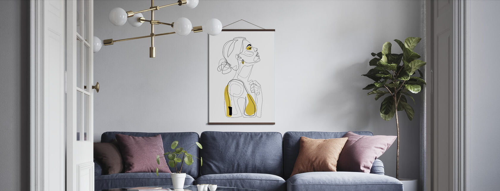 Color Beauty - Poster - Living Room