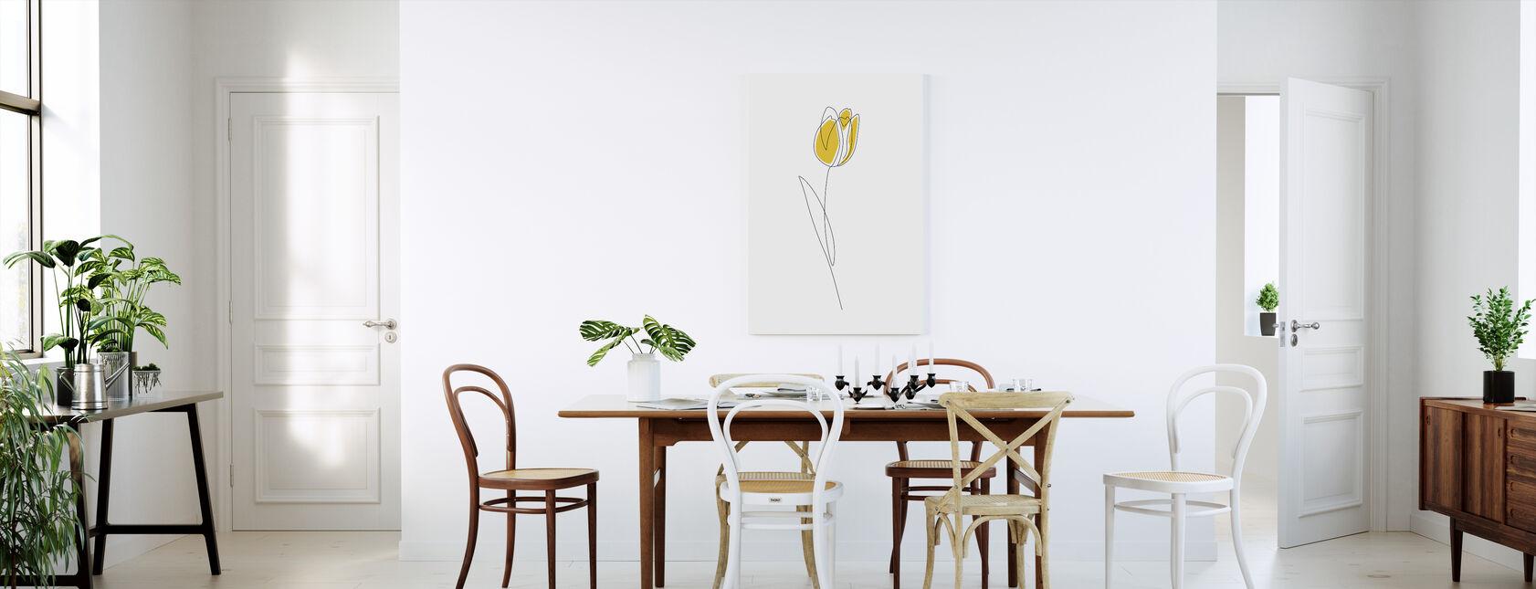 Spring Tulips - Canvas print - Kitchen