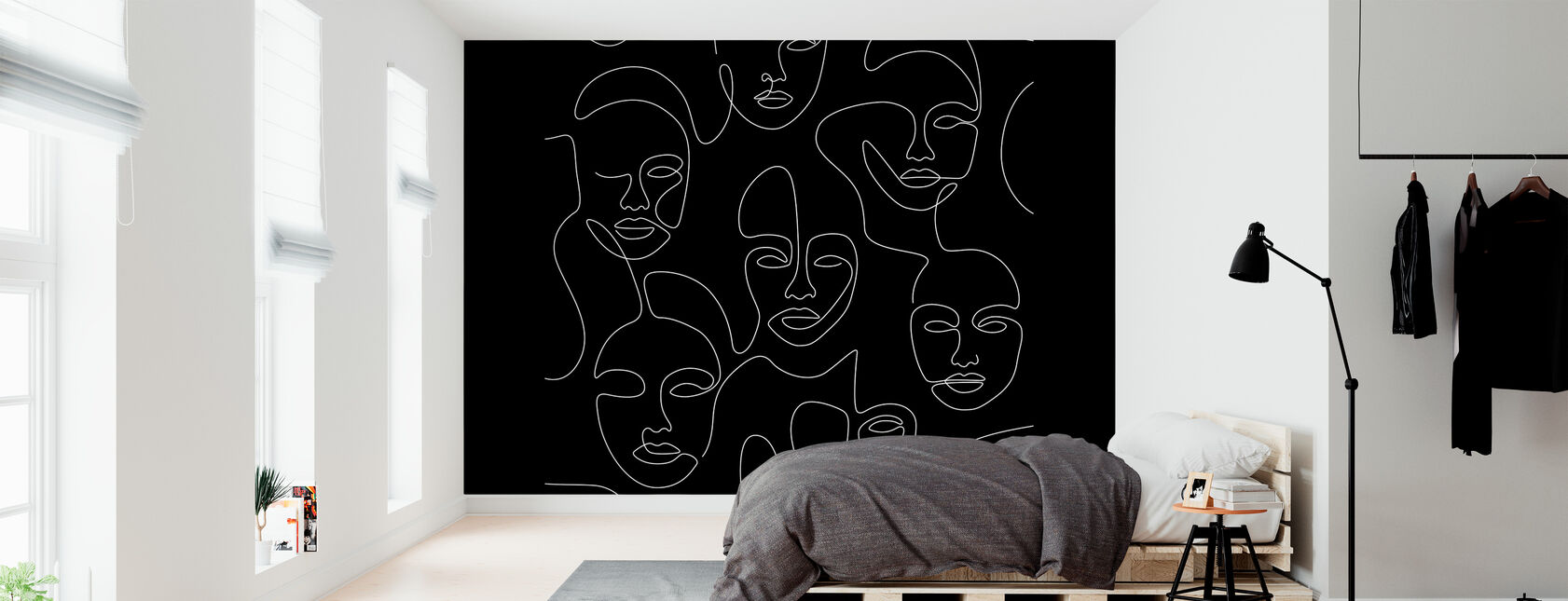 Nighttime Portraits II - Wallpaper - Bedroom