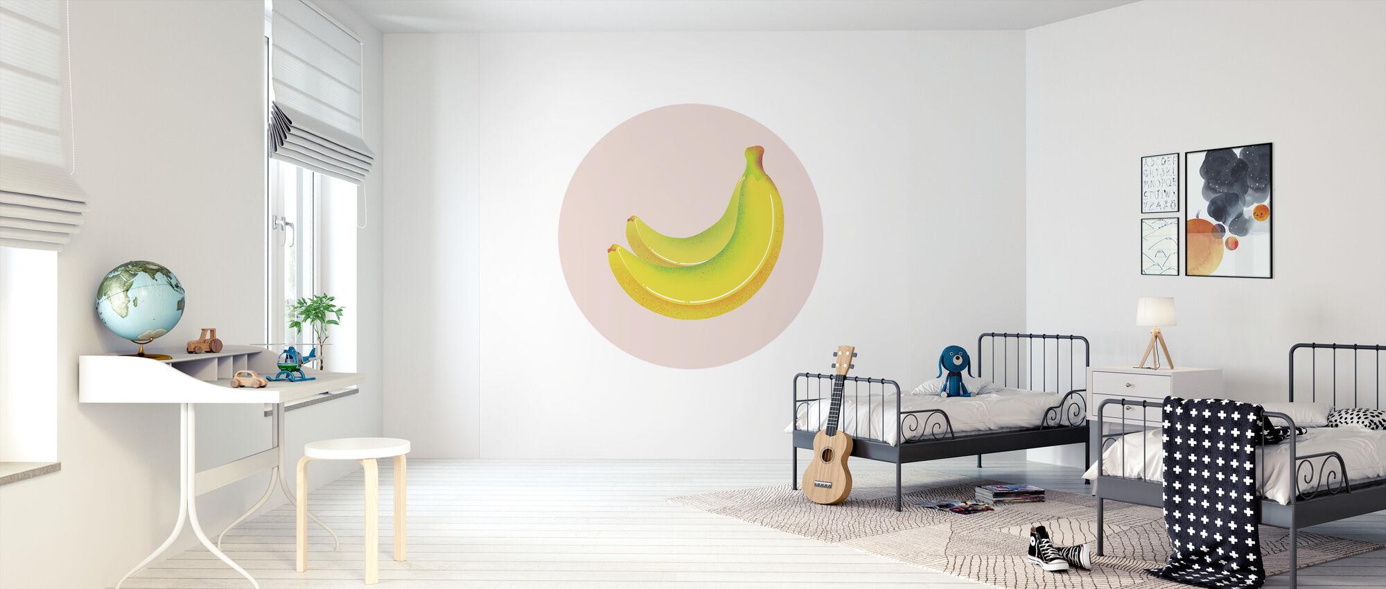 Banaaneja - Tapetti - Lastenhuone