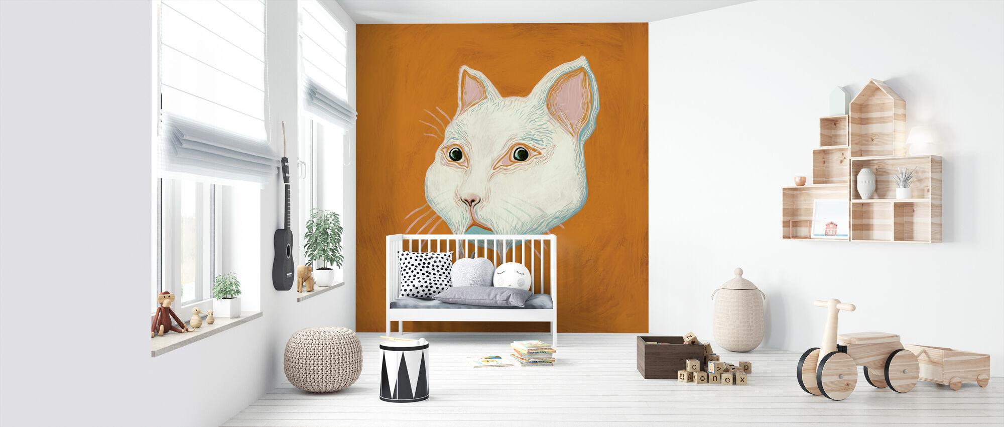 Cat - Wallpaper - Nursery
