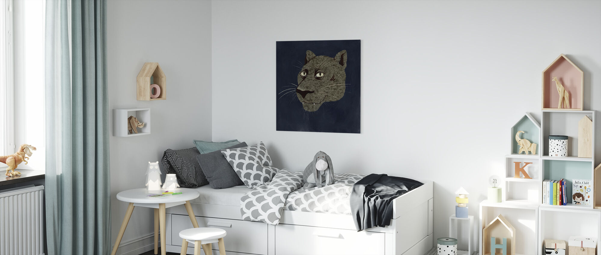 Phanter - Canvas print - Kids Room