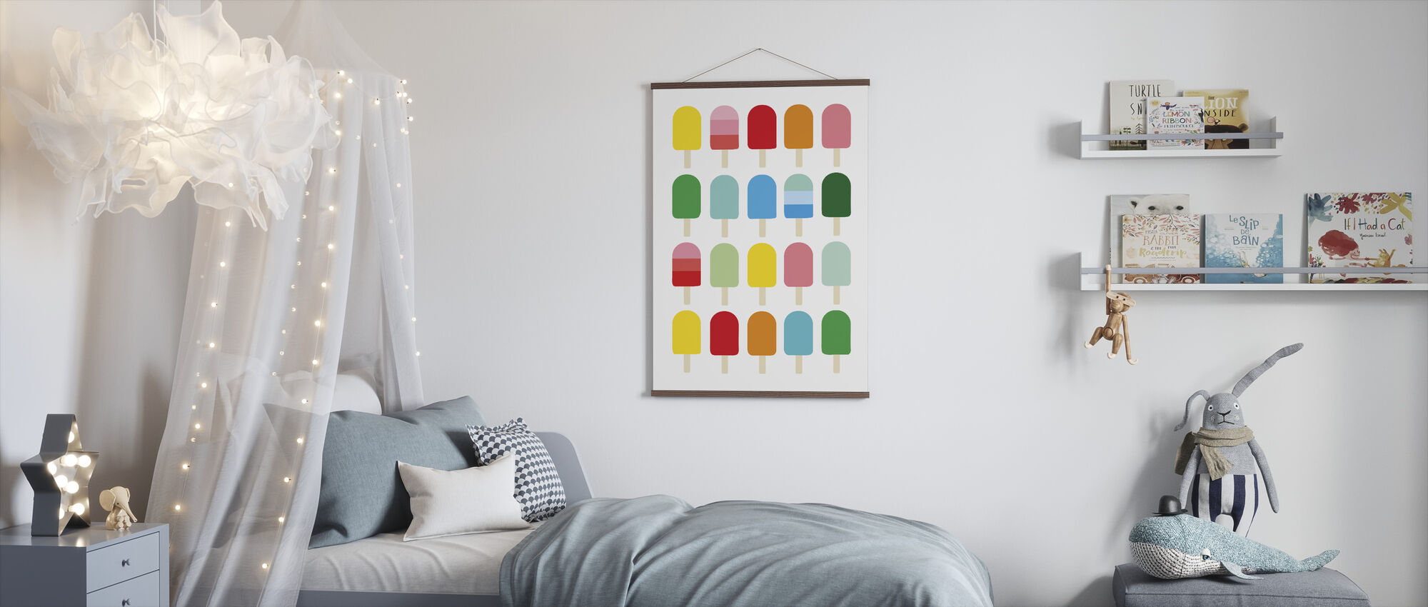 Popcycle Fun - Poster - Kids Room