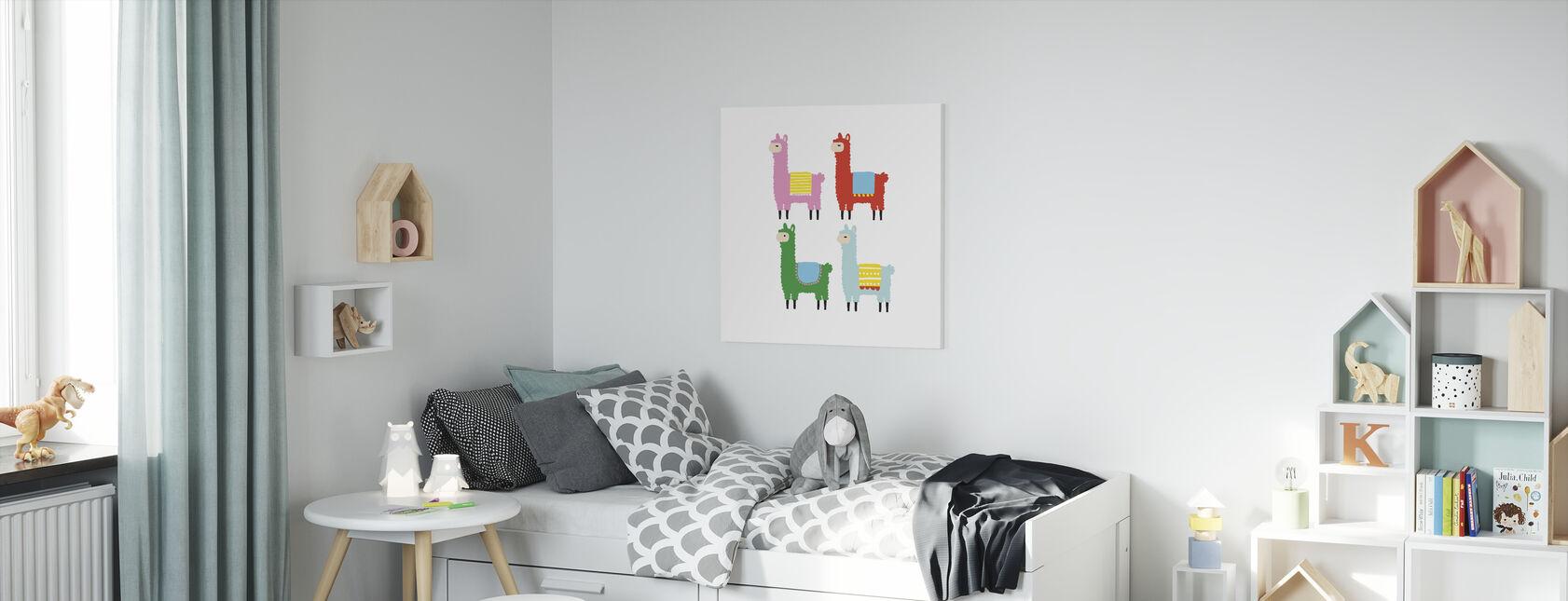 Flames - Canvas print - Kids Room