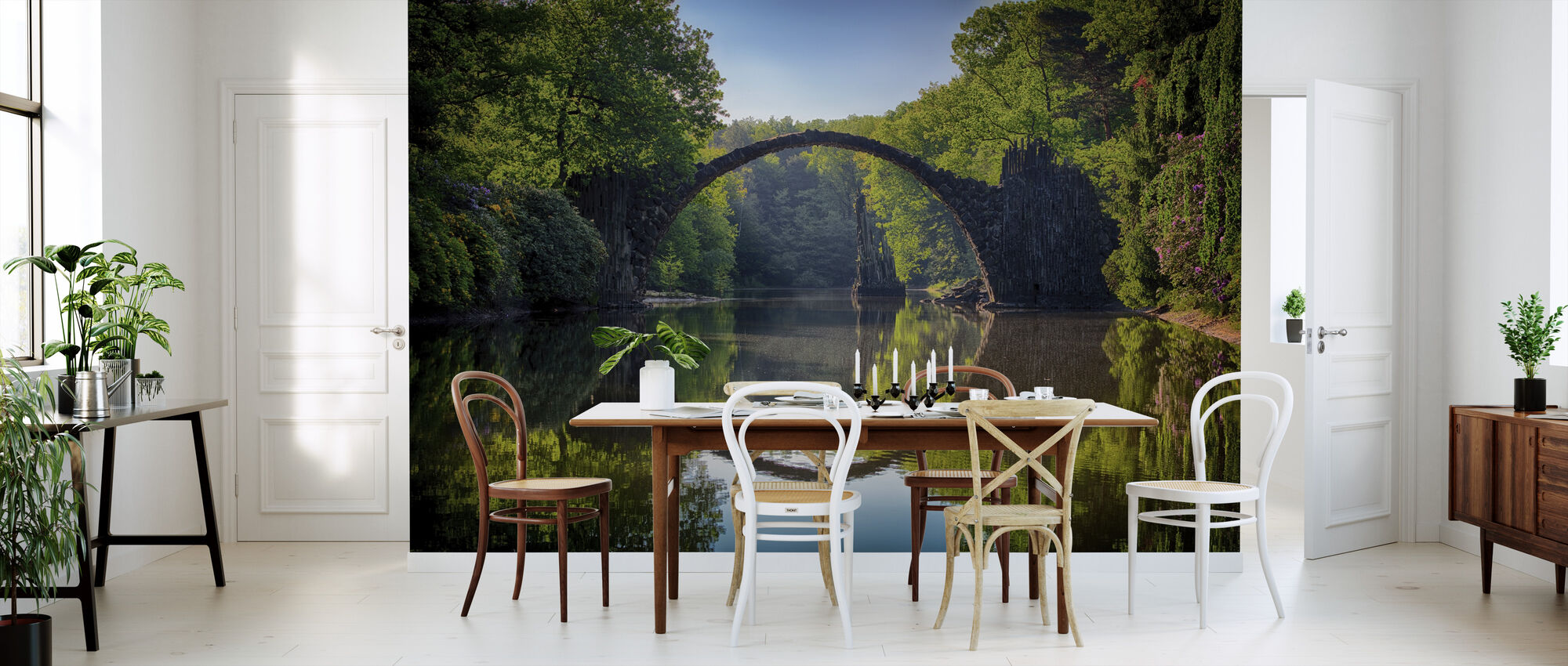 Arch Bridge - Wallpaper - Kitchen