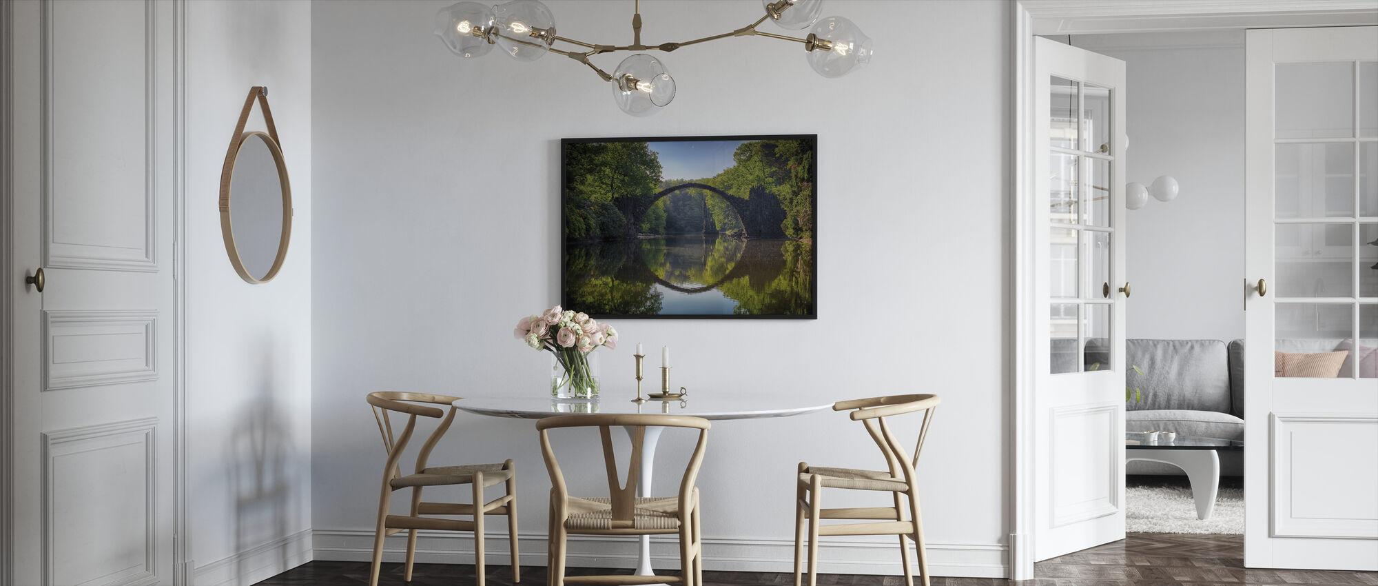 Arch Bridge - Framed print - Kitchen