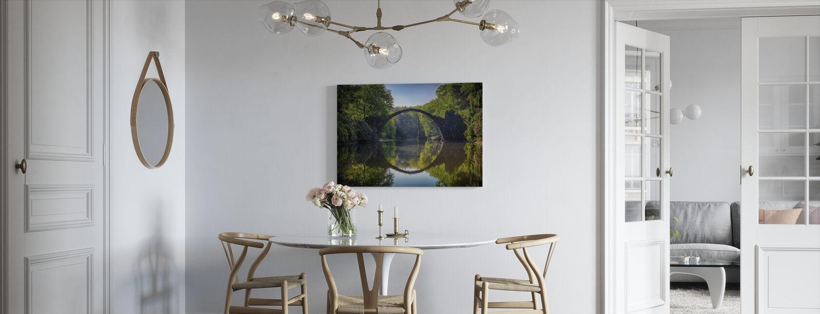 Bogenbrücke - Leinwandbild - Küchen