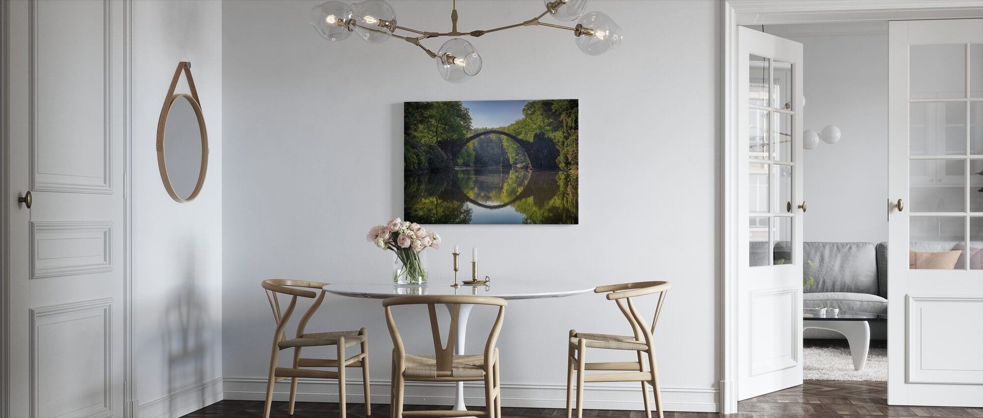 Arch Bridge - Canvas print - Kitchen