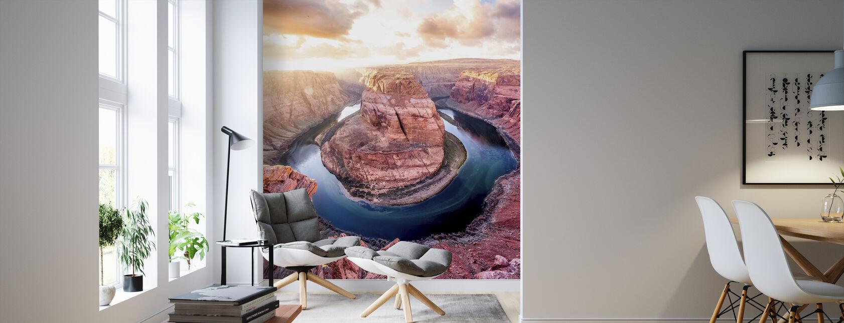 Arizona Canyon - Wallpaper - Living Room