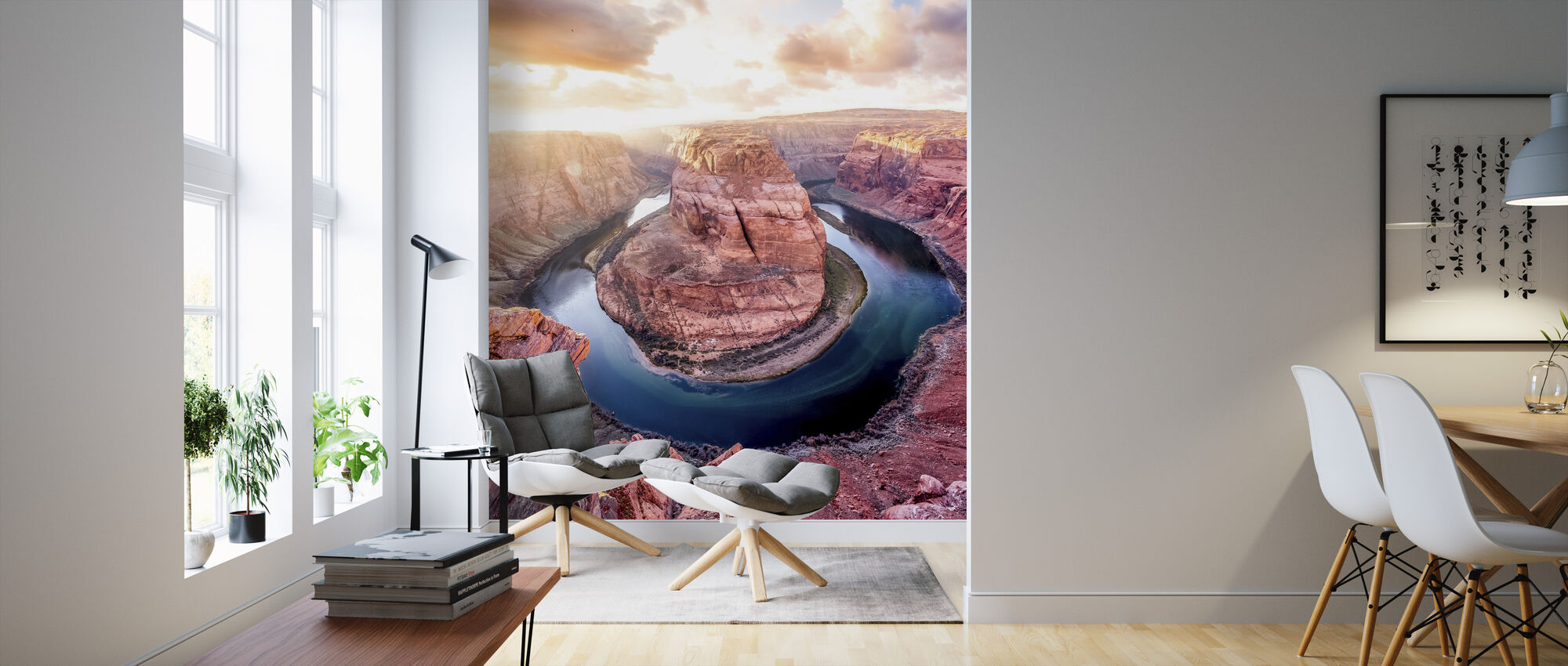 Arizona Canyon - Wallpaper - Living Room