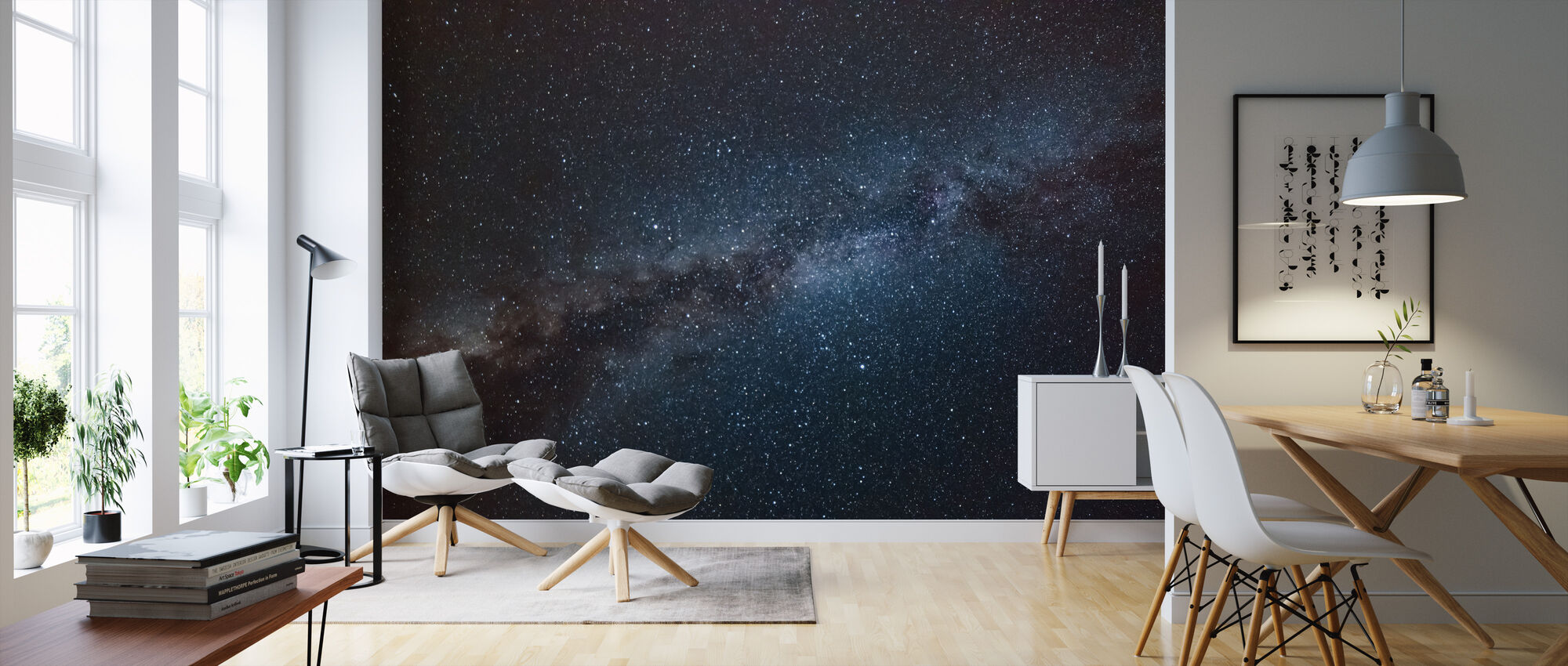 Astronomy Constellation - Wallpaper - Living Room