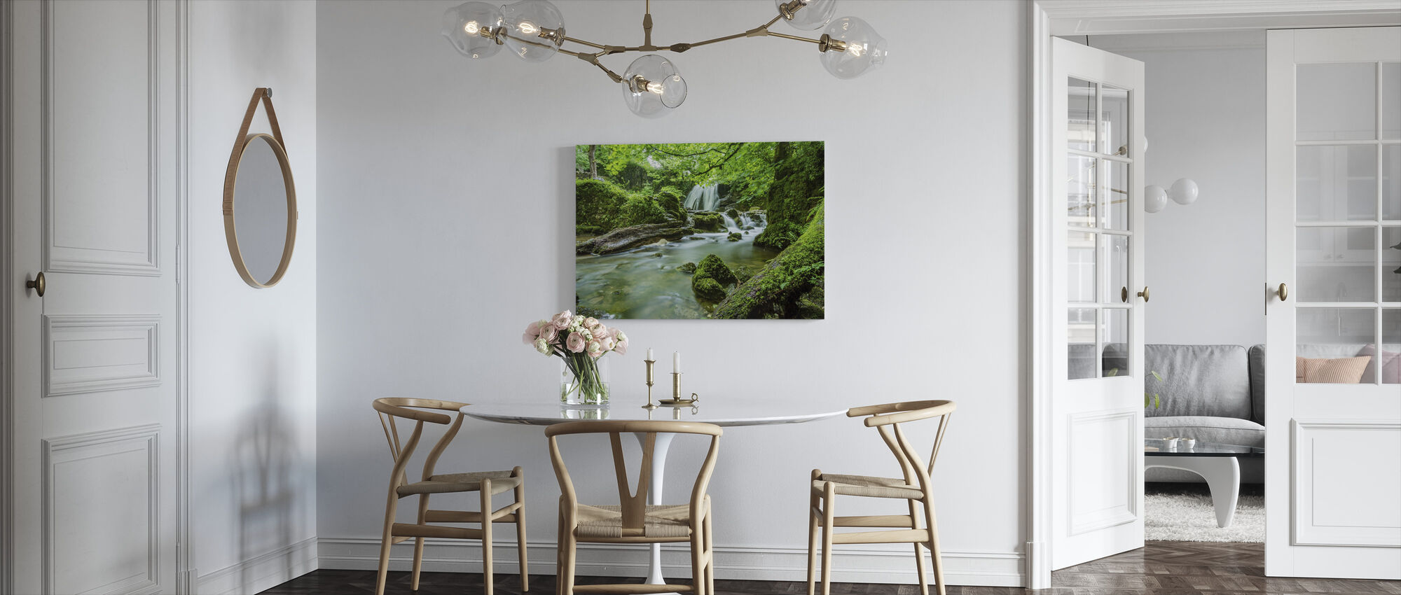 Beautiful Cascade - Canvas print - Kitchen