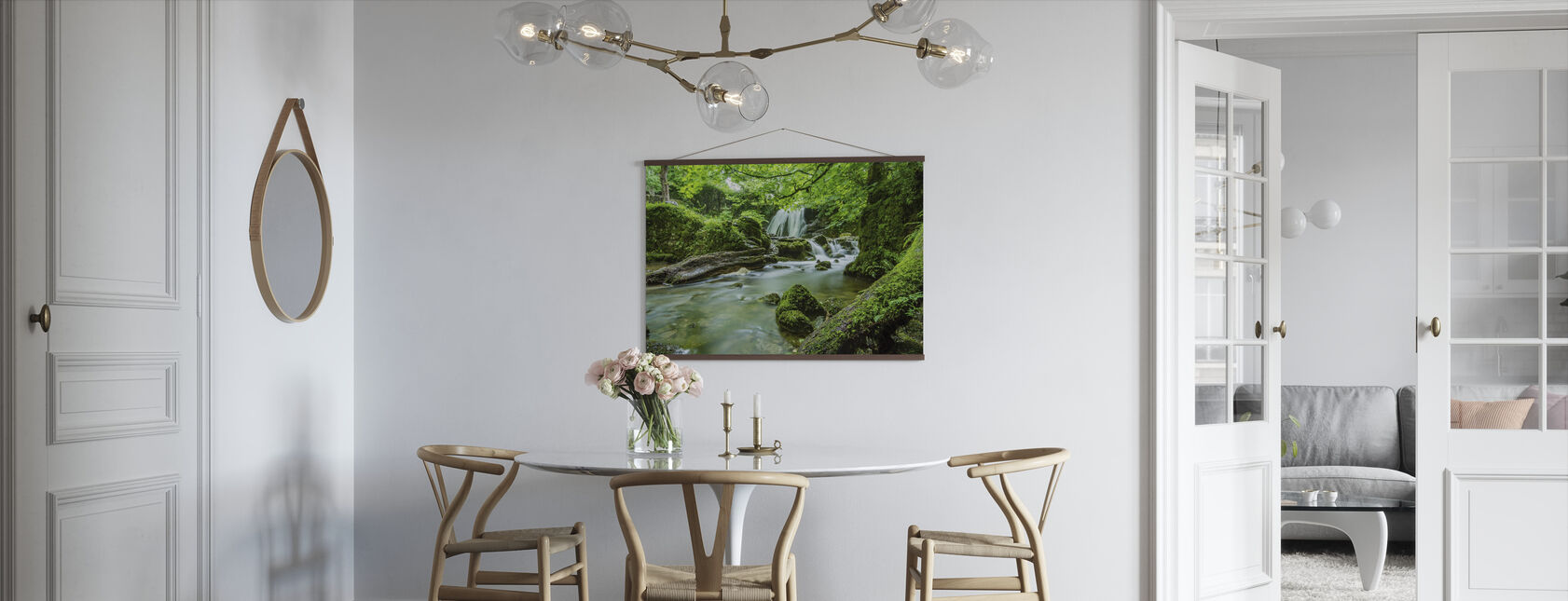 Beautiful Cascade - Poster - Kitchen
