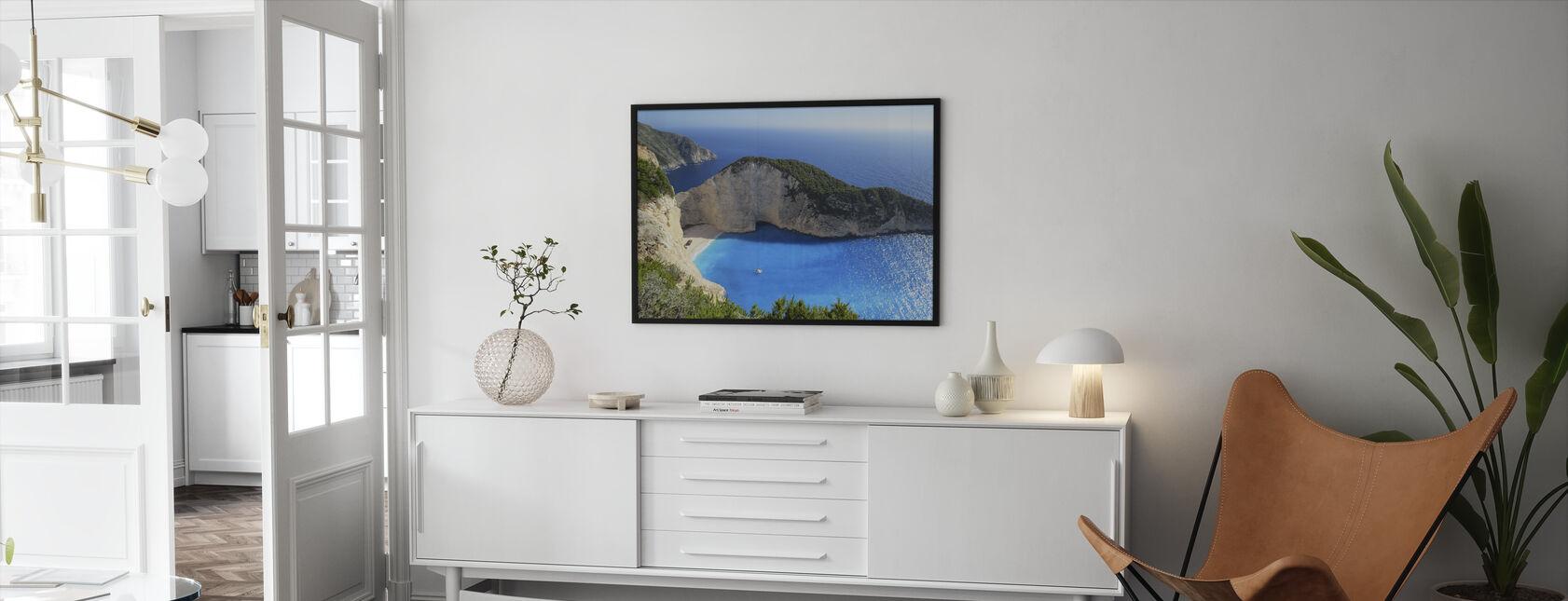 Birds-eye View - Framed print - Living Room