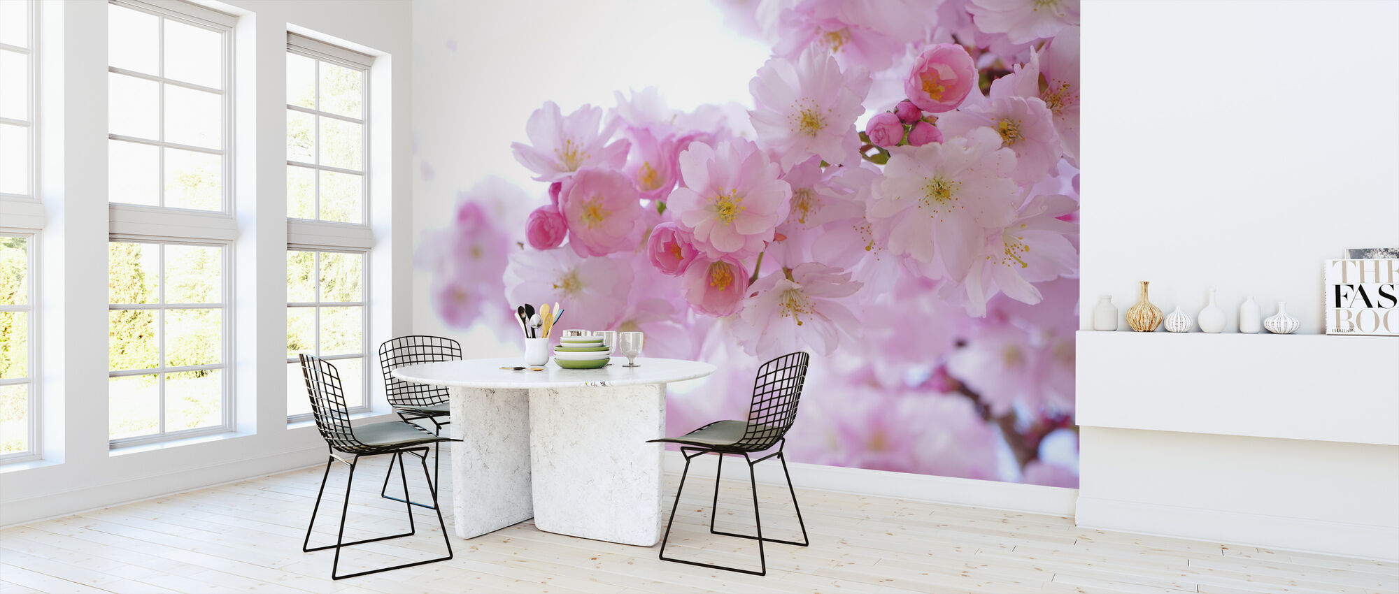 Blossom Cherry Blossom - Wallpaper - Kitchen