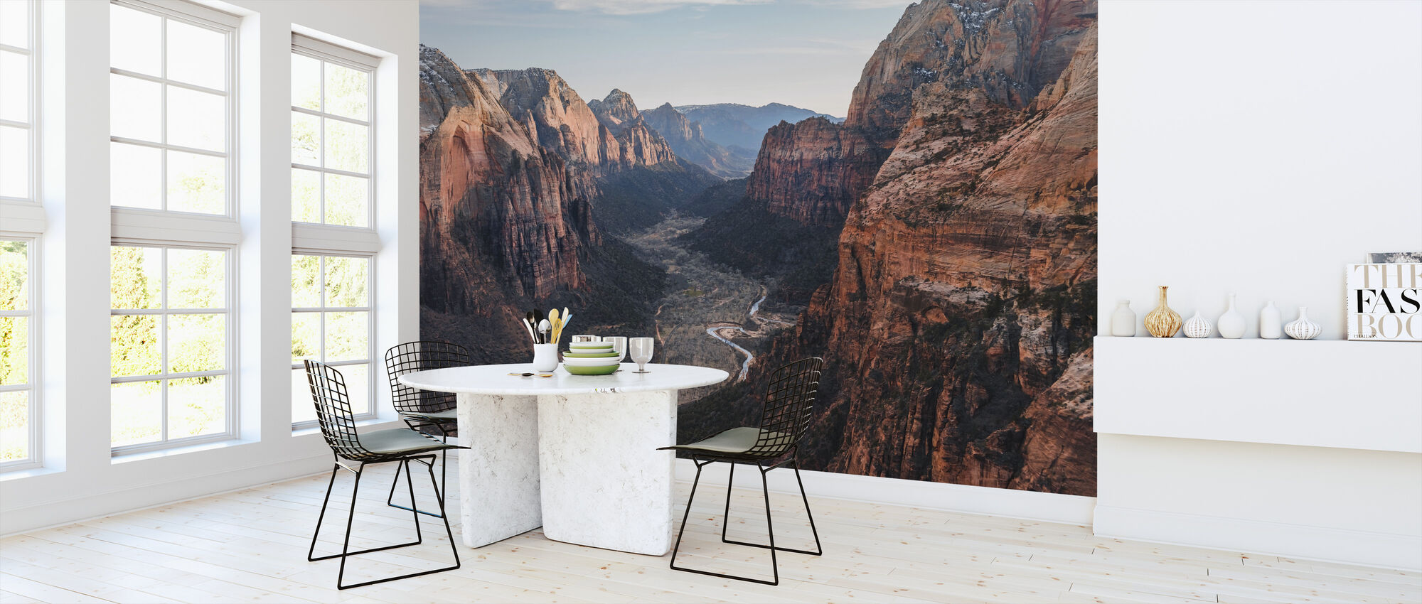 Canyon Desert Geology - Wallpaper - Kitchen