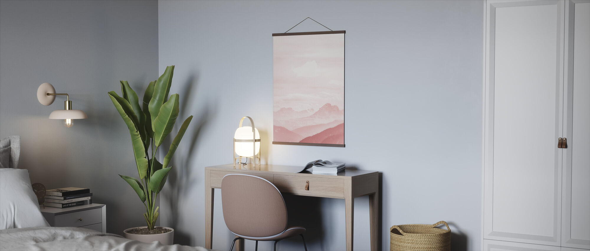 Fuzzy Mountains - Poster - Office