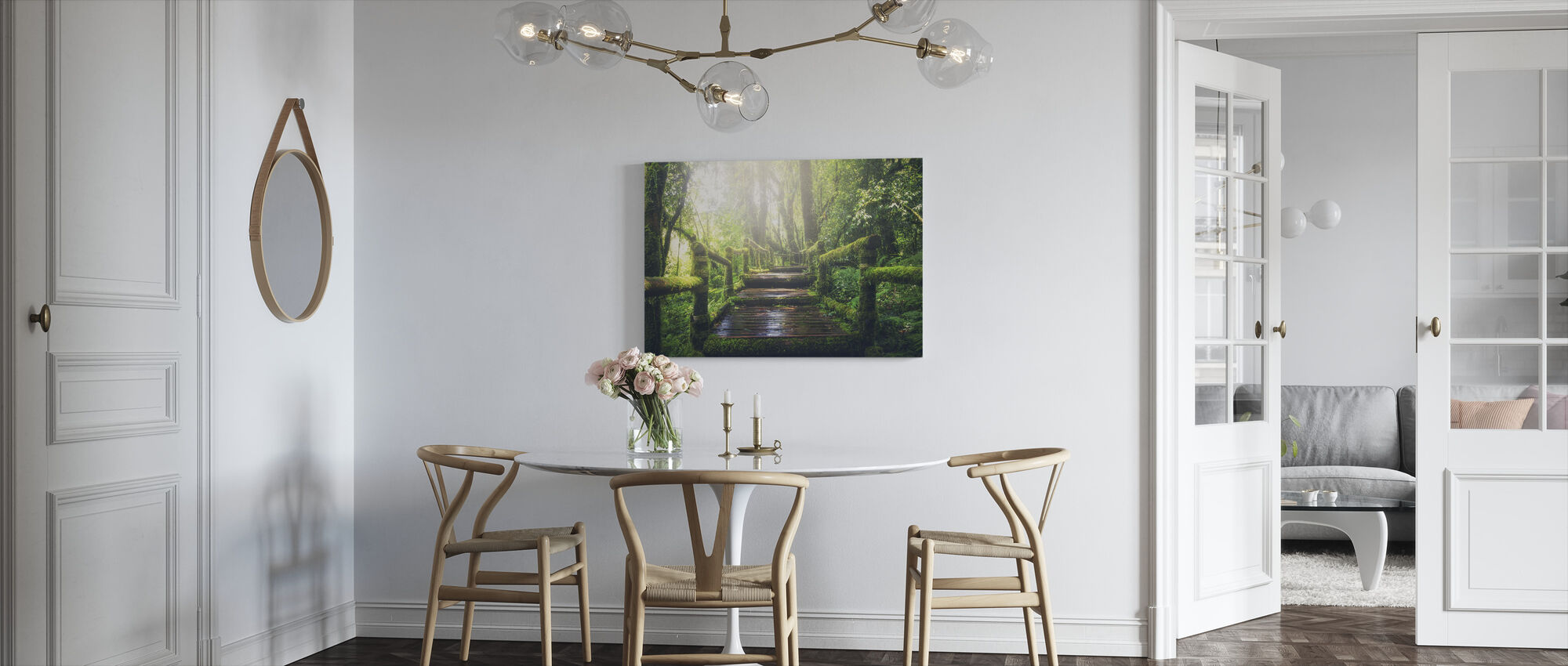 Greenest Boardwalk - Canvas print - Kitchen