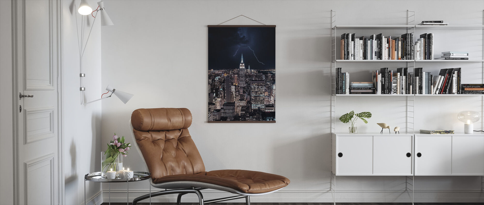 New York Natt - Poster - Vardagsrum