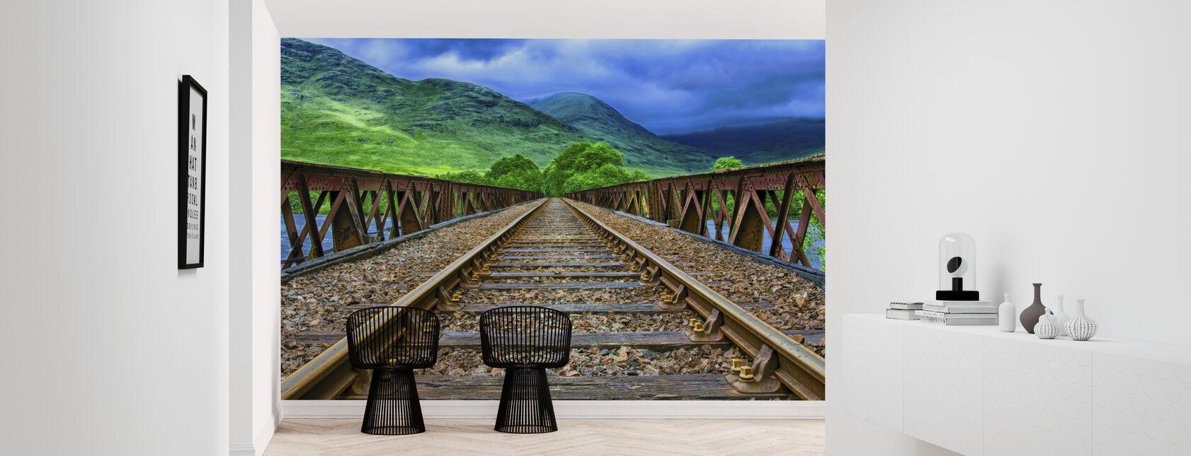 Pennsylvania järnvägsbron - Tapet - Hall