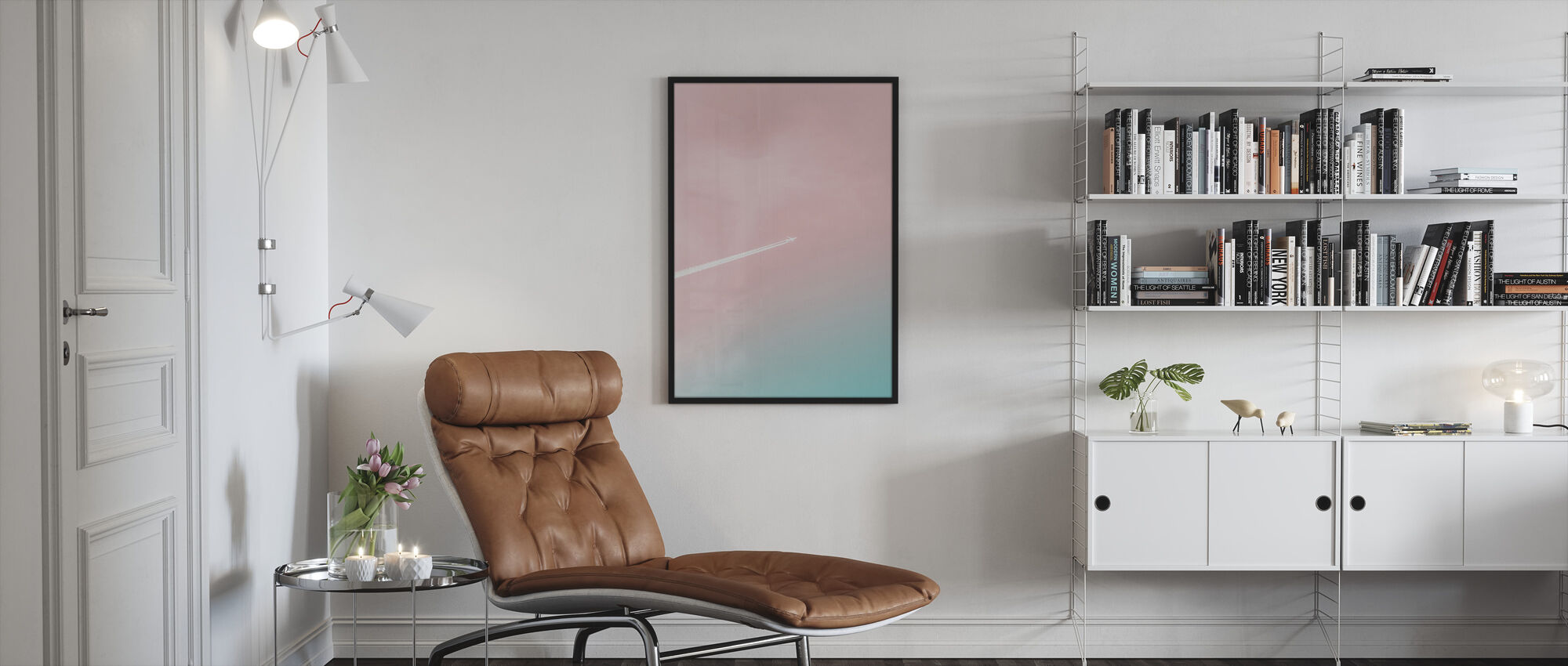 To the Top - Framed print - Living Room